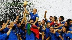 Italia Campeón del Mundo por penaltis (2006)