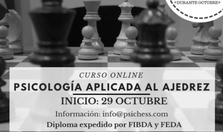 Curso Psicología aplicada al ajedrez