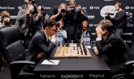 Capítulo uno. Fabiano Caruana vs Magnus Carlsen.