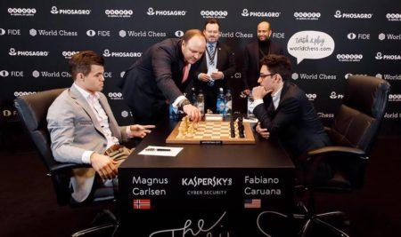 Capítulo dos. Magnus Carlsen vs Fabiano Caruana.