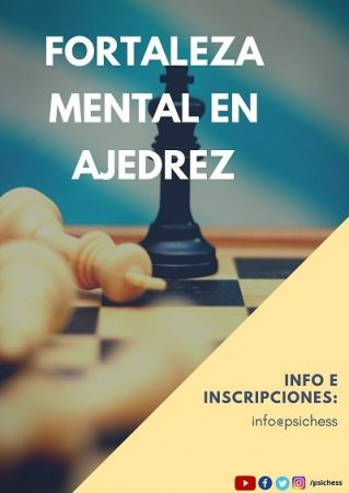 Taller Fortaleza mental en ajedrez