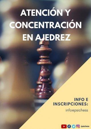 Taller de Atención y concentración en ajedrez